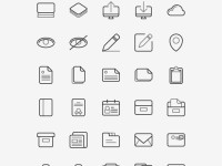 TwoGrey-Icons-Set