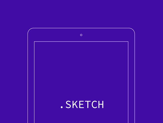 technology ipad air wireframe - Wireframe Ipad