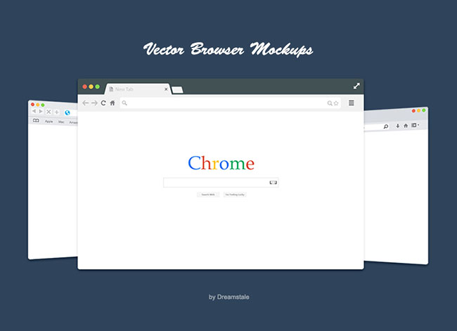 4-Free-Flat-Vector-Browser-Mockups