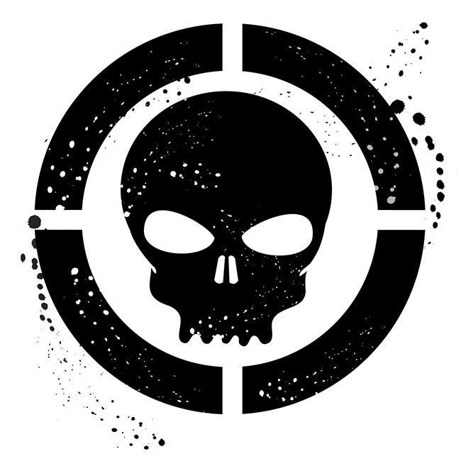 Grunge-skull-symbol-free-vector