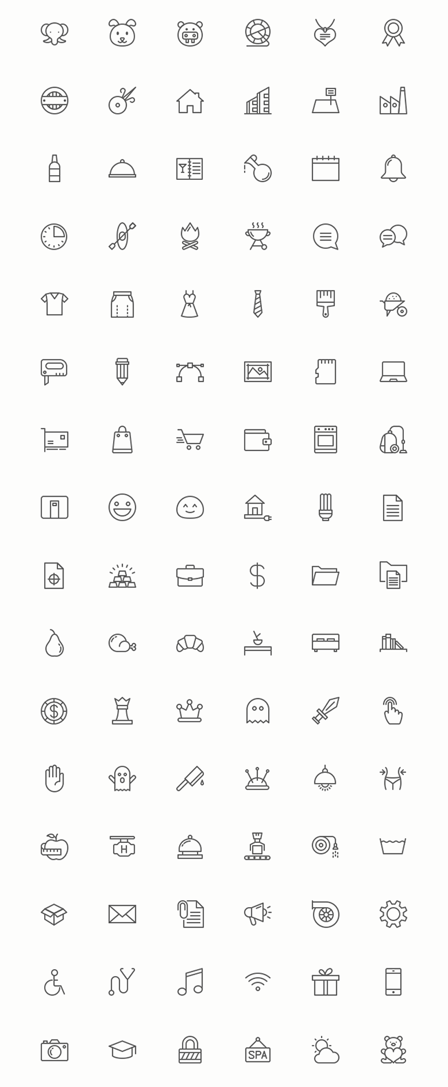96-Slimicons-Minimalistic-Line-Vector-Icons