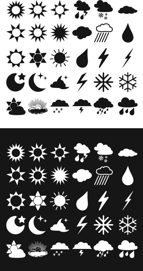 30-Forecast-Icons