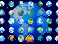 Earth-Globe-Icons-Set