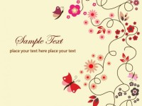 Free-Vector-Floral-Greeting-Card