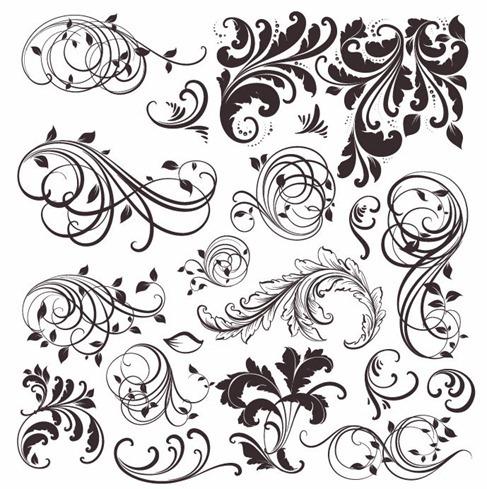 Vintage-Floral-Elements-Vector-Set
