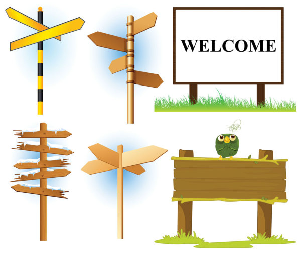 6-Vector-Signpost-Pack