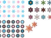 Christmas-Snowflake-Elements-Vector
