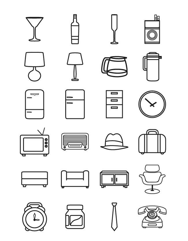 Minimal-Retro-Icon-Pack