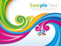 Rainbow-Floral-Swirls-Vector-Art