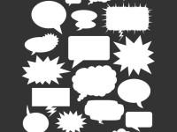 Speech-Balloon-Vector-Pack
