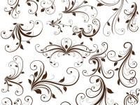 Swirl-Floral-Decorative-Element-Vector-Graphic