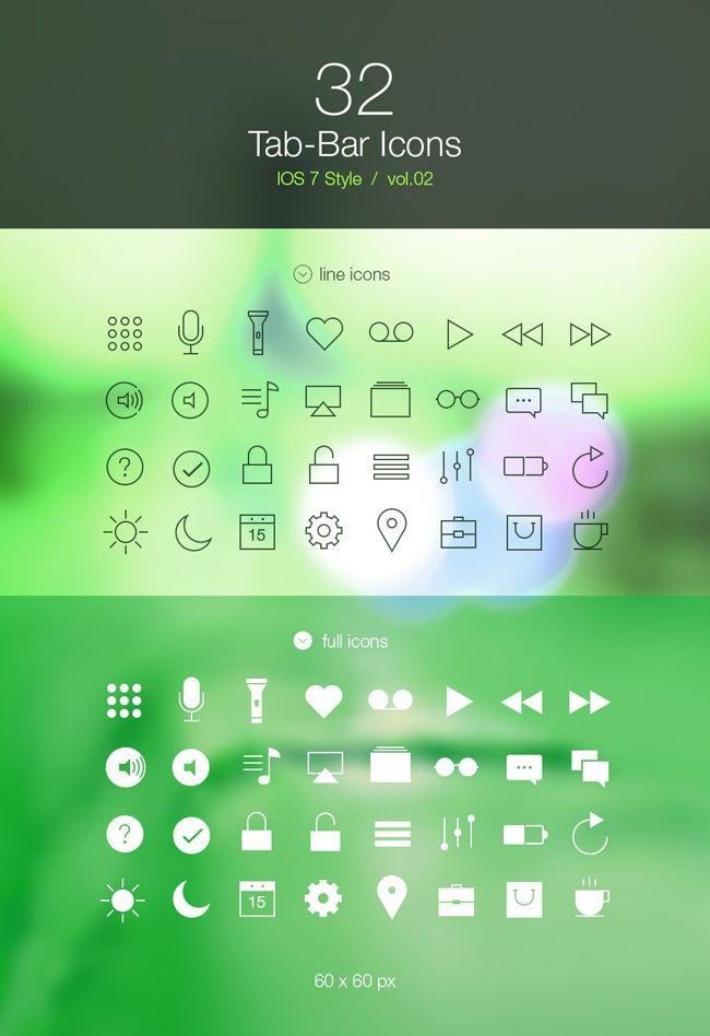 Tab-Bar-Icons-iOS-7-Vol2