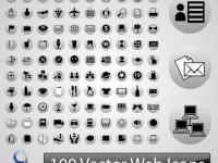100-Vector-Web-Icons