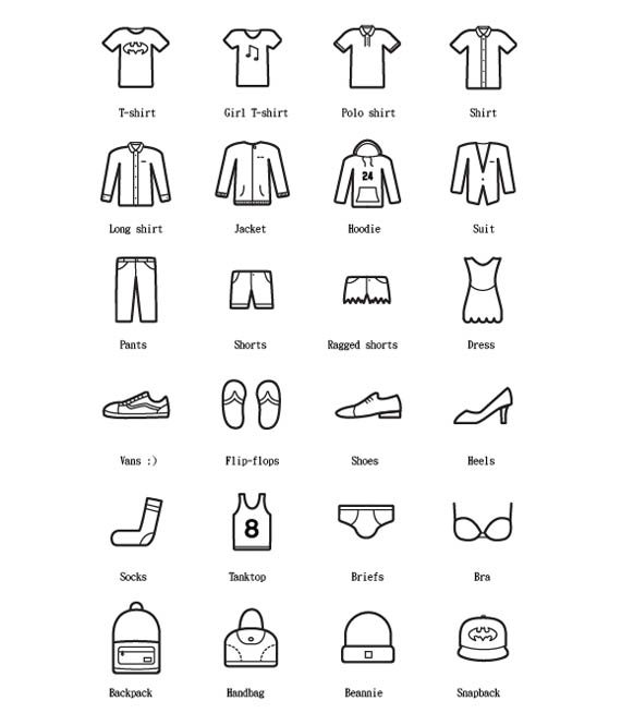 24-Free-Clothes-Icons