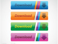 4-Shiny-Vector-Download-Buttons