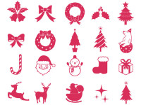 Christmas-Elements-Vector-Collection