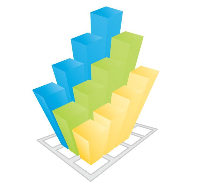 Colorful-business-3d-Graph