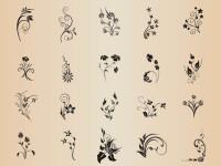 Floral-Element-Set-Vector-Graphics