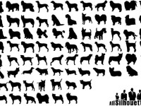 Free-Dogs-Silhouettes
