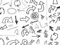 Free-Vector-120-Hand-drawn-Arrows