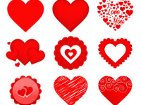 Free-Vector-Valentine-Heart-Icons