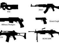 Gun-Silhouettes
