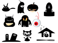Halloween-Vector-Monsters