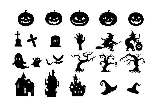 Halloween-elements