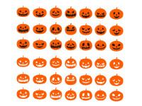 Halloween-pumpkins-expressions