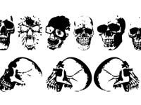 Realistic-Skulls-Silhouette