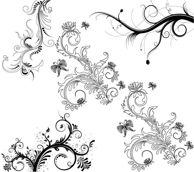 5-Floral-Ornaments