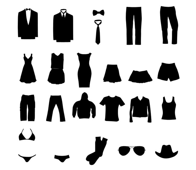 Clothing-Silhouettes-Graphic-Set