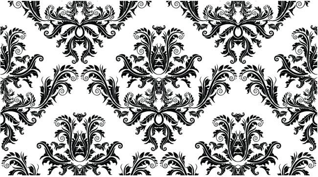 Free-Damask-Seamless-Pattern