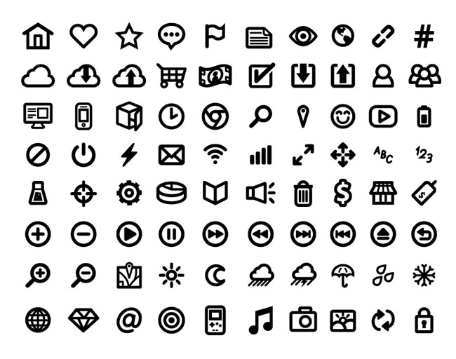 Free-UI-Vector-Icon-Set