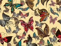 Free-Vector-butterflies-seamless-pattern
