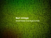 Green-vintage-seamless-pattern-background