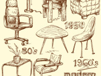 Handmade-modern-home-furniture-doodles