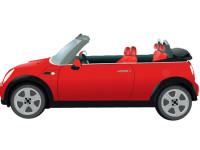Mini-Morris-vector-car