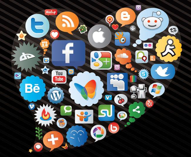 Social-Media-Heart-Icons-Vector