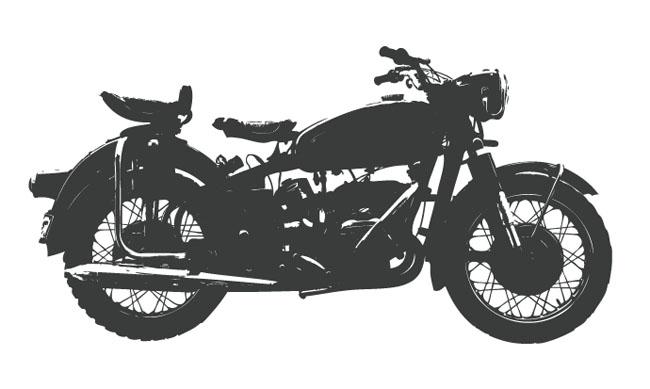 Vintage-Bike-Silhouettes-vector