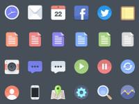 24-Flat-Icons