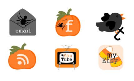 6-Halloween-Buttons