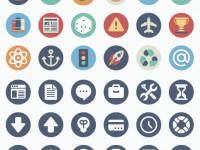 90-Beautiful-Flat-Icons