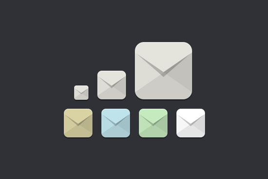 Flat-Email-Icons