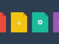 Flat-File-Icons