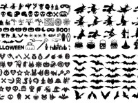 Halloween-Silhouette-Elements-Vector