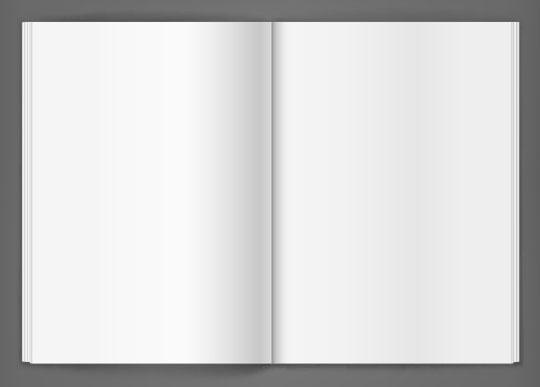 Vector-Blank-Magazine
