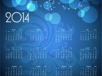 Calendar-2014-Vector