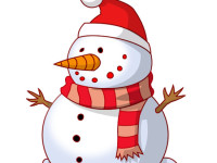 Merry-Christmas-Snowman-Clipart