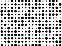 Black-dots-on-white-background-Pattern